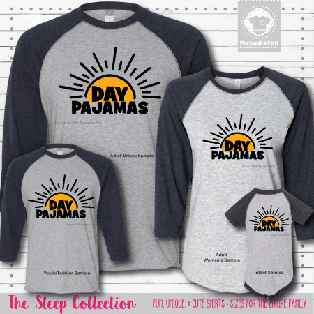Day Pajamas Shirts Raglans