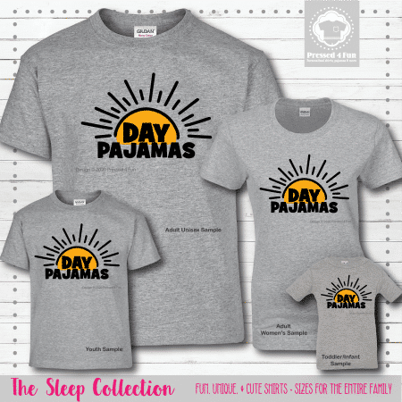 Day Pajamas Shirts Short Sleeve