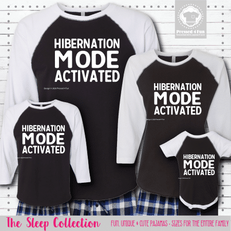 Hibernation Mode Shirts Raglans