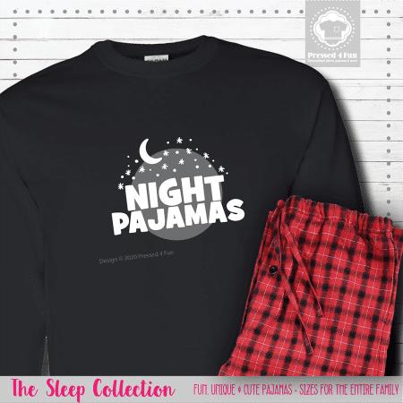Night Pajamas Long Sleeve Single