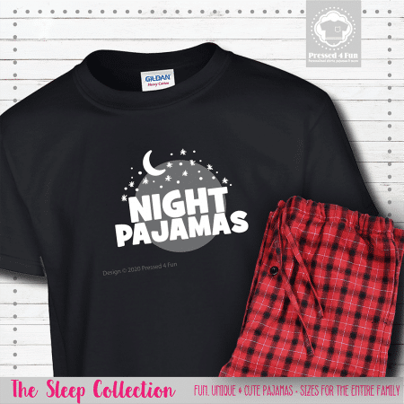 Night Pajamas Short Sleeve Single