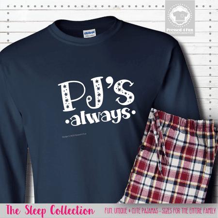 PJs Always Pajamas Long Sleeve Single