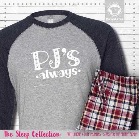 PJs Always Pajamas Raglans Single