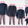 Maroon Blue Long Sleeve Pants Setup
