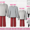 Red Black Long Sleeve Pants Setup