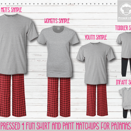 Red Black Short Sleeve Pants Setup