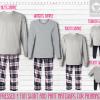 Red Navy Long Sleeve Pants Setup