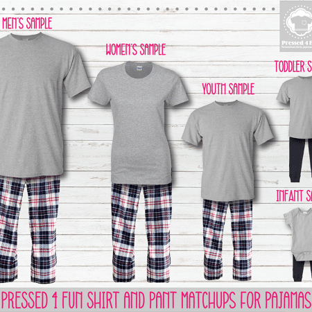 Red Navy Short Sleeve Pants Setup