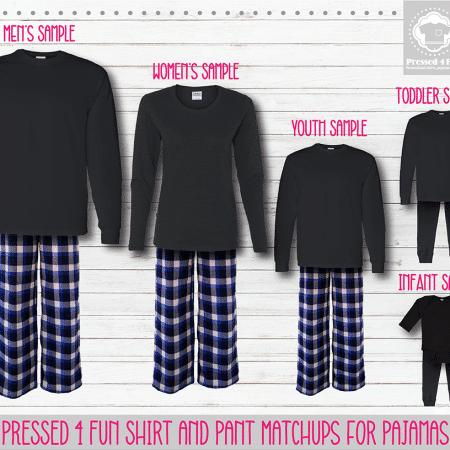 Royal Black Long Sleeve Pants Setup
