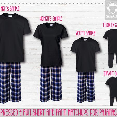 Royal Black Short Sleeve Pants Setup