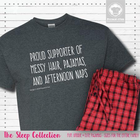 Proud Supporter of Pajamas Short Sleeve Single