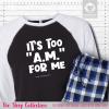 Too AM Pajamas Raglans Single