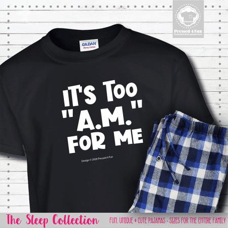 Too AM Pajamas Short Sleeve Single