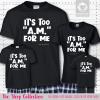 Too AM Pajamas Short Sleeve