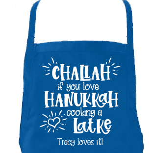 Challah Aprons Up Close
