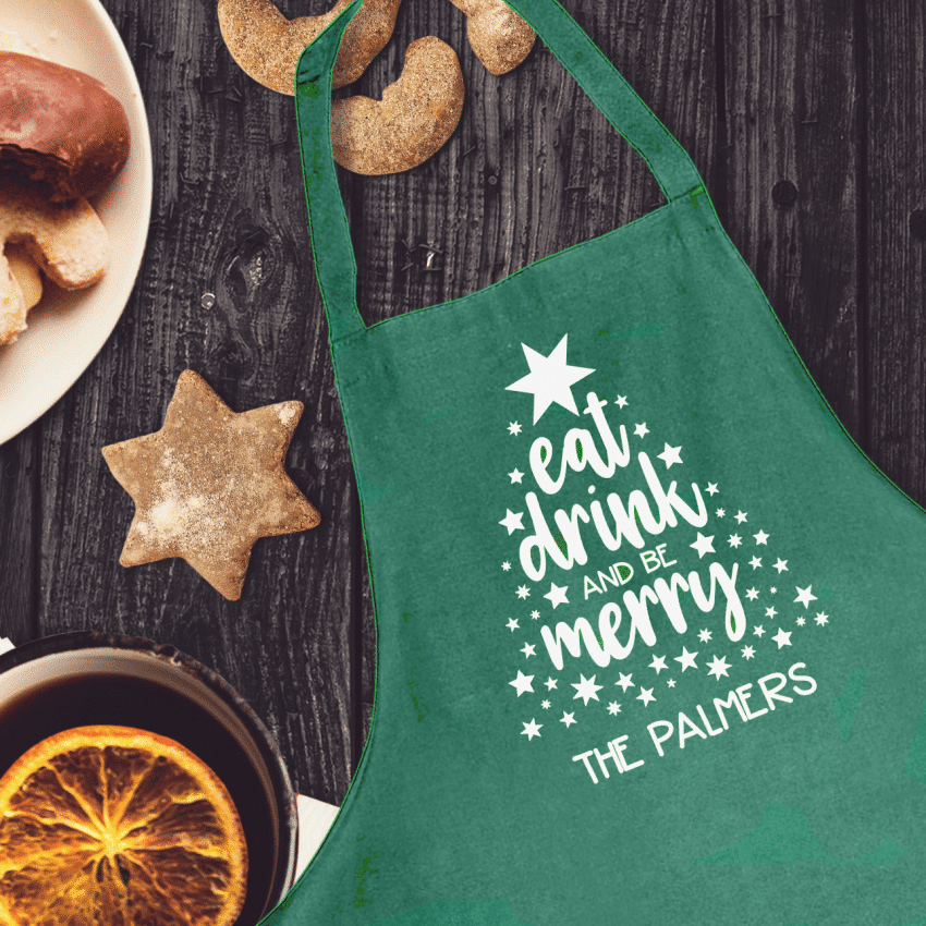 Eat Drink and Be Merry Aprons