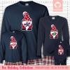Holiday Gnome Initial Pajamas Long Sleeve