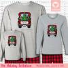 Christmas Truck Pajamas Long Sleeve