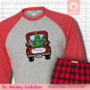 Christmas Truck Pajamas Raglans Single