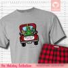 Christmas Truck Pajamas Short Sleeve Single