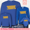 Express Train Ticket Blue Pajamas Long Sleeve