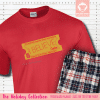 Express Train Ticket Pajamas Short Sleeve Single