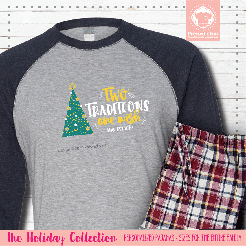 Two Traditions Pajamas Raglans Single