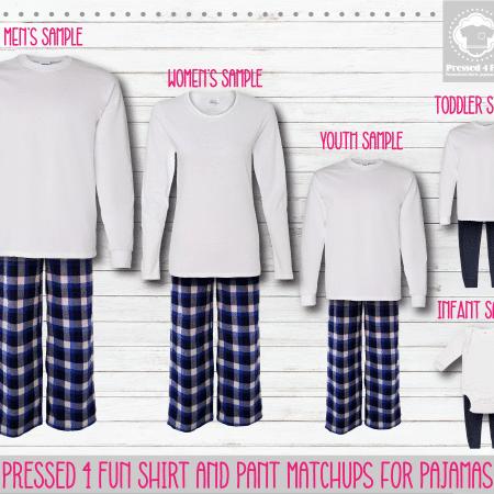 Pants Setup White Royal Blue LS