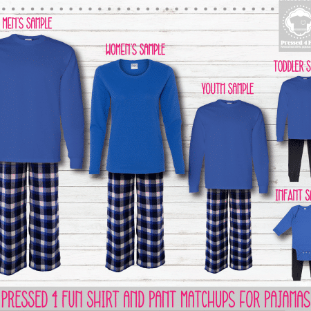 Royal Long Sleeve Pants Setup