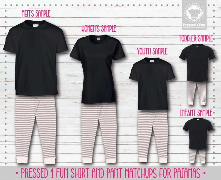 Pants Setup Black Grey White