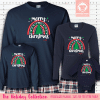 Christmas Rainbow Pajamas - Long Sleeve
