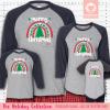 Christmas Rainbow Pajamas - Raglans