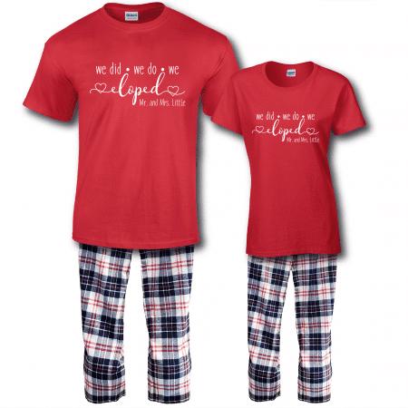 Eloped Pajamas - Short Sleeve Full