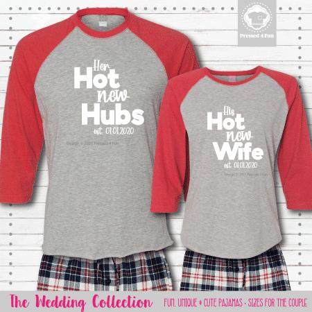 Hot New Pajamas - Raglans