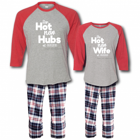 Hot New Pajamas - Raglans Full