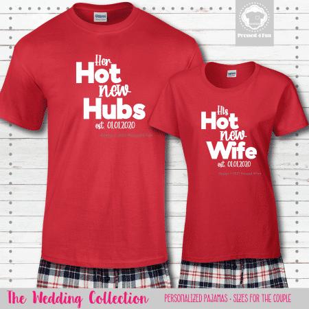 Hot New Pajamas - Short Sleeve