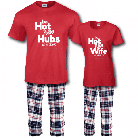 Hot New Pajamas - Short Sleeve Full