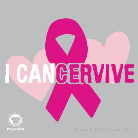 Cancervive Shirts Design