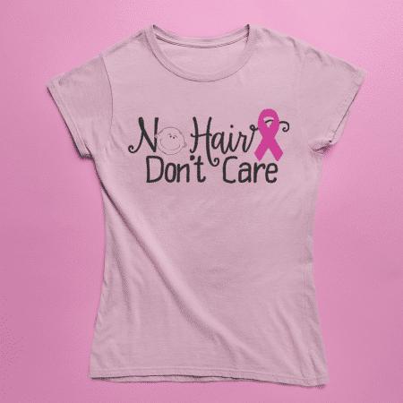 No Hair Don't Care Shirts - Womens