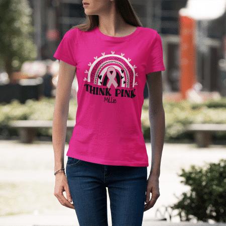 Think Pink Shirts - People