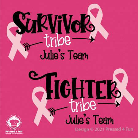 Breast Cancer Tribe Shirts Design