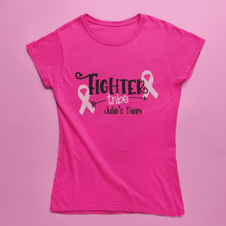 Breast Cancer Tribe Shirts - Womens