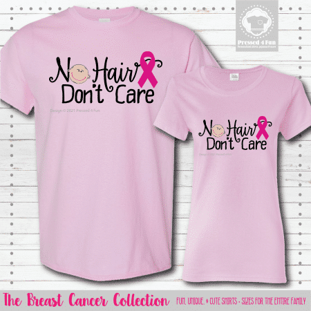 No Hair Don't Care Shirts