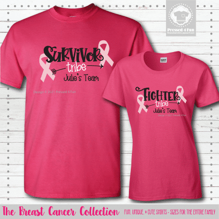 Breast Cancer Tribe Shirts