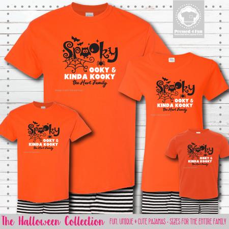 Spooky Ooky Pajamas - Short Sleeve