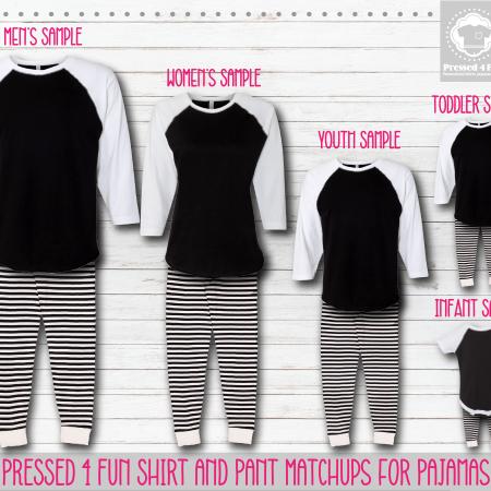 Mockups Pants Setup Black/White & Black/White